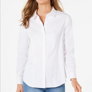 Charter Club Classic Button-Front Shirt